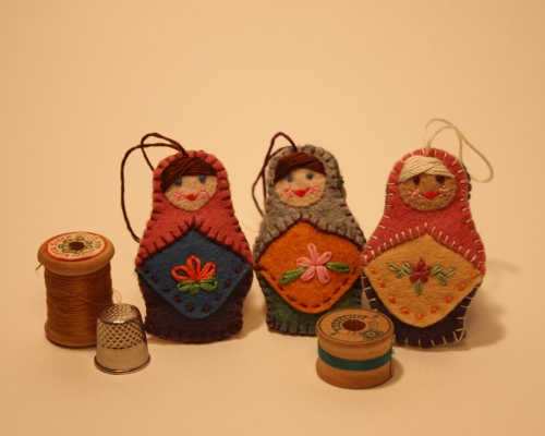 The Littlest Matryoshkas. Get 'em while they're hot!