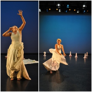Brittany Duggan in Mountain Girl, choreographed by Susan Kendal and Brittany Duggan.